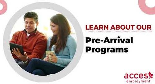 Pre Arrival Programs at ACCES