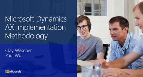 Microsoft Dynamics AX implementation methodology