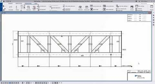 Improvements in Drawing Associativity - Tekla Structures 2021