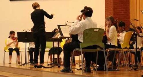 Lower School Strings Concert 2016
