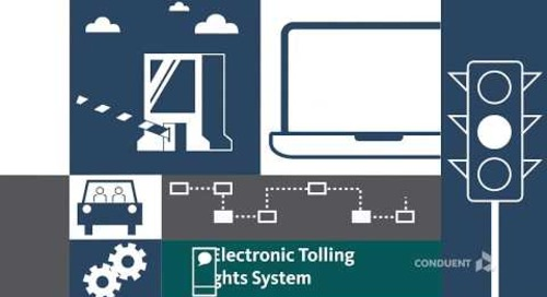 Conduent's Electronic Tolling Insights System