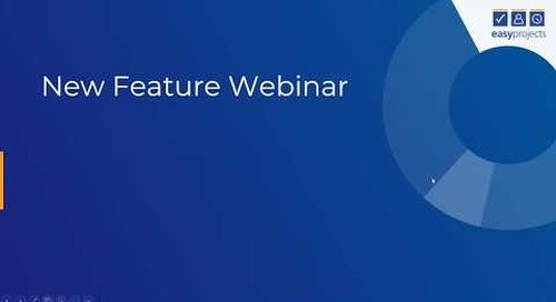 New Reporting & Tagging Features - Easy Projects Webinar