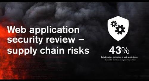 Webinar | Web application security review