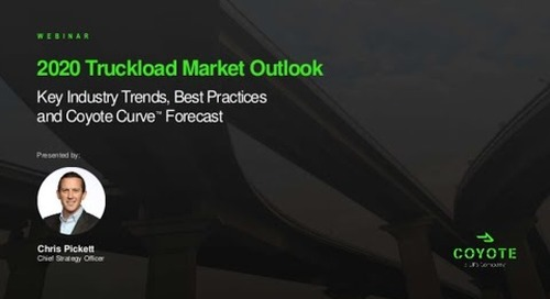 VIDEO: Q1 2020 U.S. Truckload Market Forecast