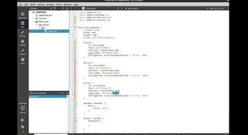 Introduction to Qt – Intro to Qt Quick Controls {tutorial}