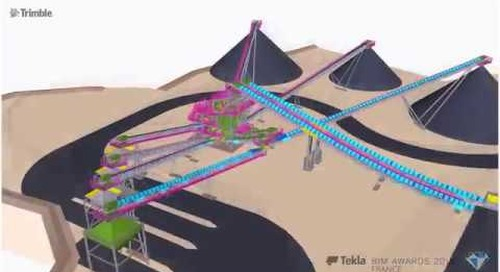 Tekla France BIM Awards 2018 - SANDVIK : CERF