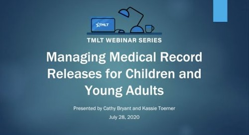 Managing medical record releases for children and young adults