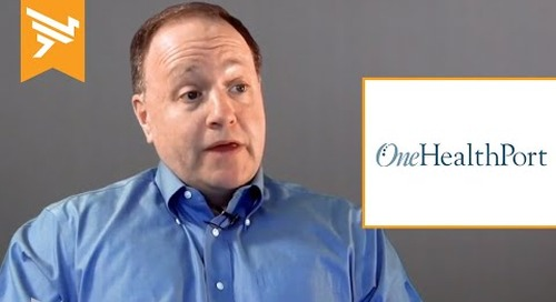 OneHealthPort   Elevating healthcare B2B integration into the cloud