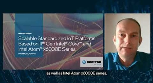 Kontron Shows Modules with New Intel® Processors
