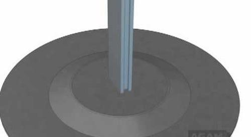 AGAM Dome Floor Base Using 625 Stem 104