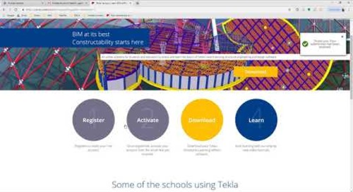 Comment télécharger Tekla Campus