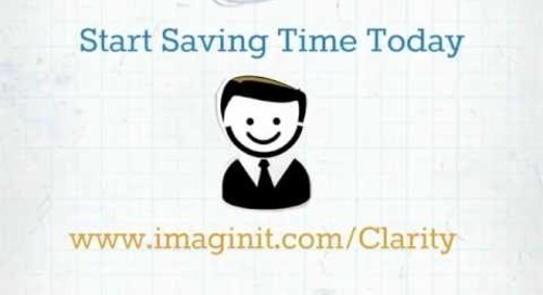 IMAGINiT Clarity Works for Bob the BIM Coordinator