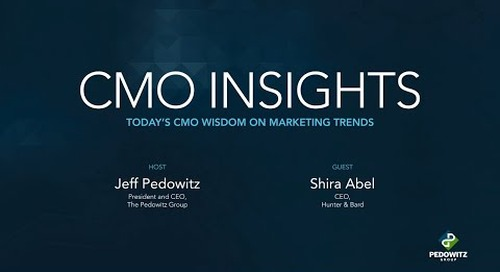 CMO Insights: Shira Abel, CEO of Hunter & Bard