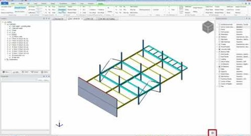 Tekla Structural Designer Reviewing Analysis Results