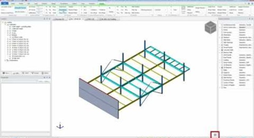 Tekla Structural Designer Reviewing Analysis Results