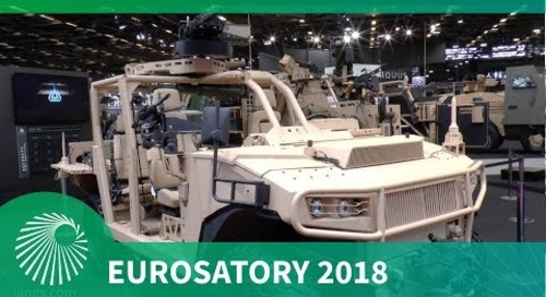 Eurosatory 2018: AQUUS new AREG Light Tactical Vehicle for Special Operations