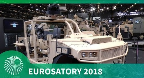 Eurosatory 2018: ARQUUS new AREG Light Tactical Vehicle for Special Operations