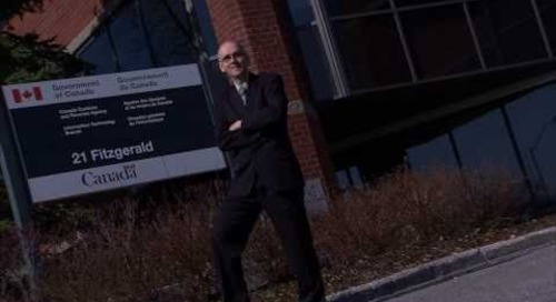 Algonquin College 's e-Supply Chain Management  gave Ken Rosehart a great career