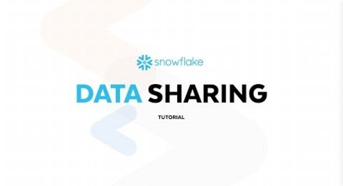 New and Improved Snowflake Data Sharing