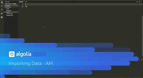 importing data from the API