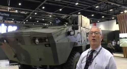 DSEI 2015: Otokar – wheeled armoured fighting vehicles (AFV'S) Arma family