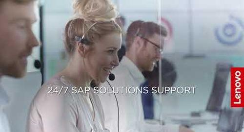 Lenovo ThinkAgile HX Series for SAP HANA and Nutanix Prism
