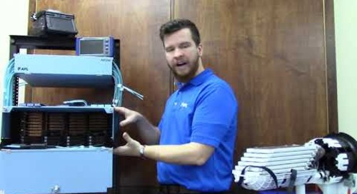 AFL's Lucas Mays talks about our end-to-end fiber optic solutions. BICSI2021
