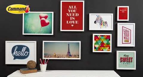 Love Your Walls by 3M Command™ feat  Tara Dennis