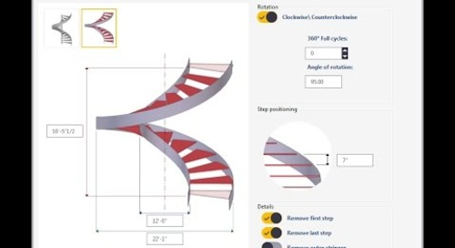 Tekla Structures Spiral Staircase 1.0