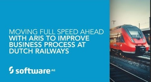 Moving full speed ahead with ARIS to improve business process at Dutch Railways