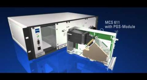 ZEISS MCS 600 - Diode Array Spectrometer