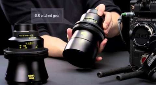 ZEISS Lens Gears turn camera lenses into cinema lenses in a flash