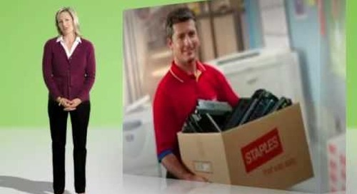 Staples Advantage a Positive Impact on the Environment Video