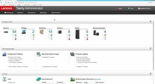 Lenovo XClarity Administrator Overview