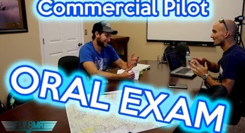 Commercial Pilot Oral Exam (FAA Checkride Prep)