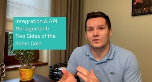 API Management and Integration: Two Sides of the Same Coin