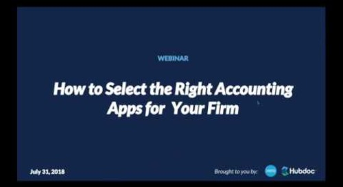 How to Select the Right Accounting Apps for Your Firm