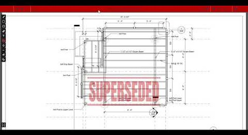 ProjectSight Training Video  - Superseded Drawing Stamps