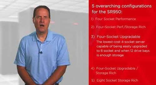 Lenovo ThinkSystem SR950 Server Configurations