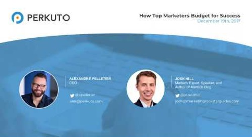 How Top Marketers Budget for Success