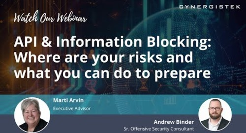 API & Information Blocking: Where are your risks and what you can do to prepare