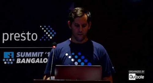 Presto Summit India 2019 - Key Note: Martin Traverso