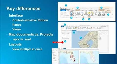 Taking the Fear Out of Change Immediate Benefits of Switching to ArcGIS Pro