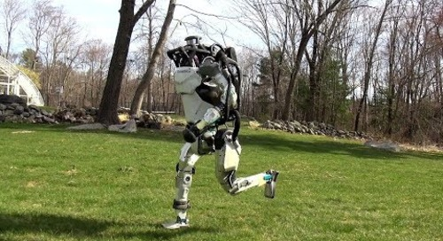 Watch Boston Dynamics' Atlas robot go for a run like it's no big deal