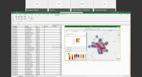 Connecting Geography and Spreadsheets The Integration of ArcGIS into Microsoft Excel