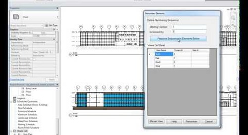 IMAGINiT Utilities for Revit - Renumber Views on Sheet
