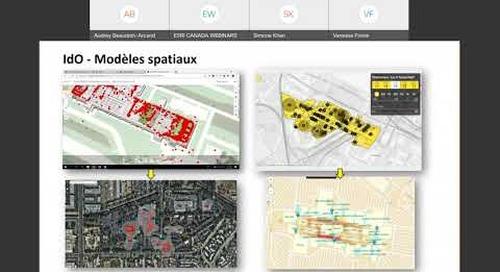 ArcGISIndoors pour la gestion intelligente des bâtiments