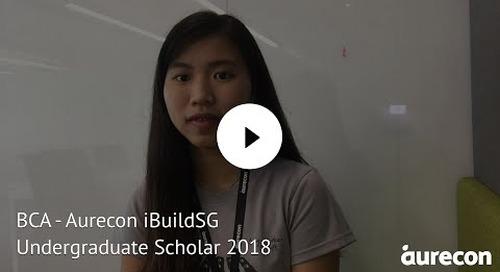 BCA - Aurecon iBuildSG Undergraduate Scholar 2018