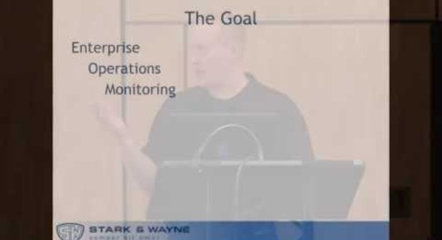 Stark & Wayne - In Pursuit of Complete Visibility within Cloud Foundry - Cloud Foundry Summit 2014