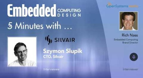 Five Minutes With…Szymon Slupik, CTO, Silvair